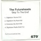 the futureheads skip to the end ACETATE CD