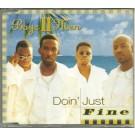 boys II men doin' just fine PROMO CDS