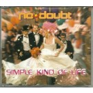 No Doubt simple kind of life PROMO CDS