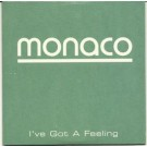 Monaco i've got a feeling PROMO CDS