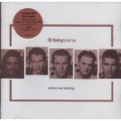 Boyzone Where We Belong CD