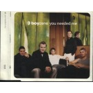 Boyzone You Needed Me PROMO CDS