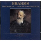 Brahms Symphony No. 4 / Eight Hungarian Dances CD