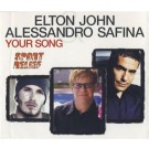 Elton John Your Song Alessandro Safina PROMO CDS