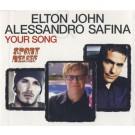 Elton John Your Song Alessandro Safina PROMO CDS