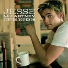 Jesse McCartney Just So You Know PROMO CDS
