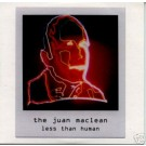 Juan Maclean Less Than Human Euro promo CD