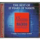 Naxos Anniversary Collection 15th Anniversary 1987-2002 CD