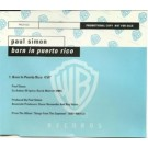 Paul Simon Born in porto rico PROMO CDS