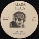 Talking Heads Mr. Jones 7""