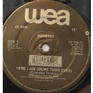 Dominoe Here I Am (More Than Ever) 12""