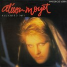 Alison Moyet All Cried Out 12""