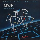 Maze Featuring Frankie Beverly Can't Stop The Love LP