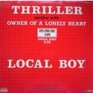 """Local Boy Thriller Medley With Owner Of A Lonely Heart 12"""""""