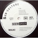 """New Order Sub-Culture 12"""""""