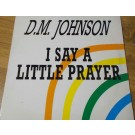 "David Michael Johnson I Say A Little Prayer 12"""