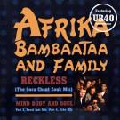 "Afrika Bambaataa & Family Reckless 12"""
