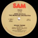 John Davis & The Monster Orchestra Kojak Theme / Whatever Happened To (Me And You) 12