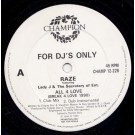 Raze Featuring Lady J & The Secretary Of Entertainment All 4 Love (Break 4 Love 1990) 12""
