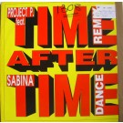 """Project P. Feat. Sabina Time After Time (Dance Remix) 12"""""""