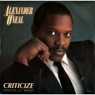 """Alexander O'Neal """"Criticize (Special 12"""""""" Mixes)"""" 12"""""""