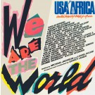 """USA For Africa We Are The World 7"""""""