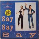 "Paul McCartney & Michael Jackson Say Say Say 12"""