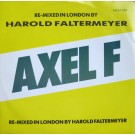 "Harold Faltermeyer Axel F (The London Mix) 12"""