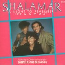 Shalamar A Night To Remember (The M & M Mix) 12""