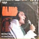 """Elvis Presley Moody Blue 7"""""""