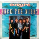 """Europe (2) Rock The Night 12"""""""