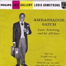 Louis Armstrong And His All-Stars Ambassador Satch 7""