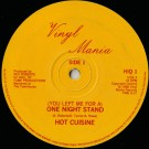 """Hot Cuisine One Night Stand 12"""""""