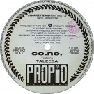 """CO.RO. Because The Night (Remix) 12"""""""