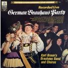 Karl Braun's Brauhaus Band and Chorus German Brauhaus Party LP