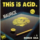 Maurice Joshua This Is Acid 12""