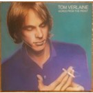 Tom Verlaine Words From The Front LP