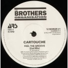 """Cartouche Feel The Groove 12"""""""