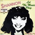 Shannon Let The Music Play (Special-Remix) 12""