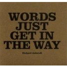 Richard Ashcroft Words just get in the way PROMO CDS