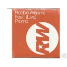 Robbie Williams Feel LIVE promo CD