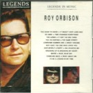 Roy Orbison Legends In Music CD
