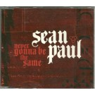 Sean Paul Never gonna be the same PROMO CDS