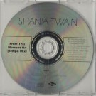 Shania Twain From This Moment On (Tempo Mix) PROMO CDS