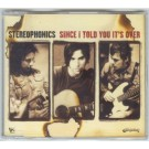 Stereophonics Since I Told You It's Over CDS
