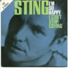Sting I'm So Happy (Cd Single) CDS