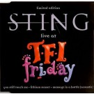 Sting Live At Tfi Friday CDS