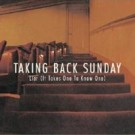 Taking Back Sunday Liar (it takes one to know one) PROMO CDS