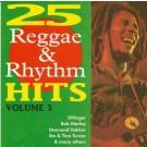 Various Artists 25 Reggae & Rythm Hits Vol. 3 CD