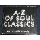 Various Artists A - Z Of Soul Classics 2CD